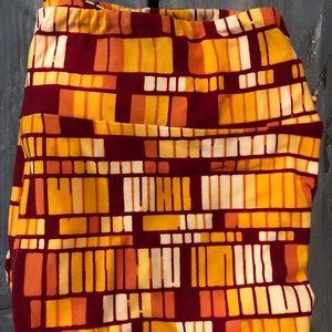 USC Colored LuLaRoe leggings